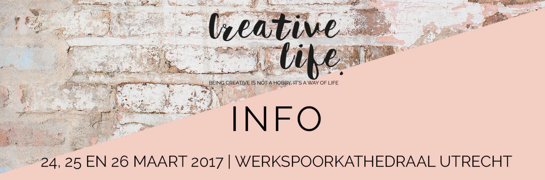 Creative Life Event 24-26 maart 2017