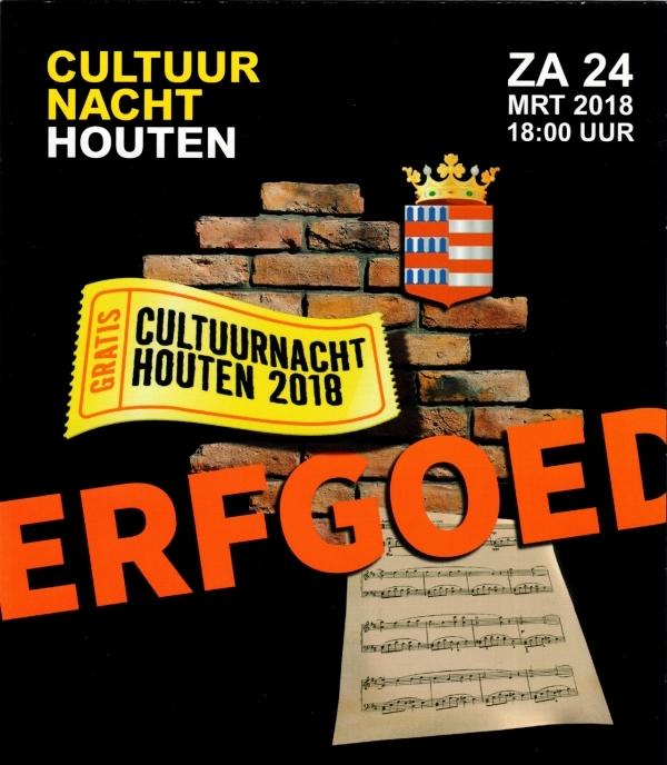 Cultuurnacht Houten 2018