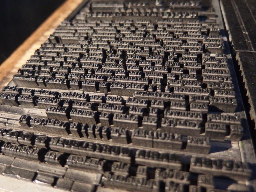 Letterzetten Grafisch Museum Groningen Fotografie Romy van Esseveld