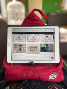 Bookseat met iPad